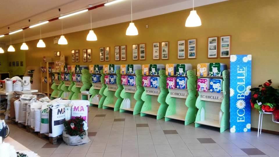 Allestimento negozio detersivi alla spina eco bolle 1