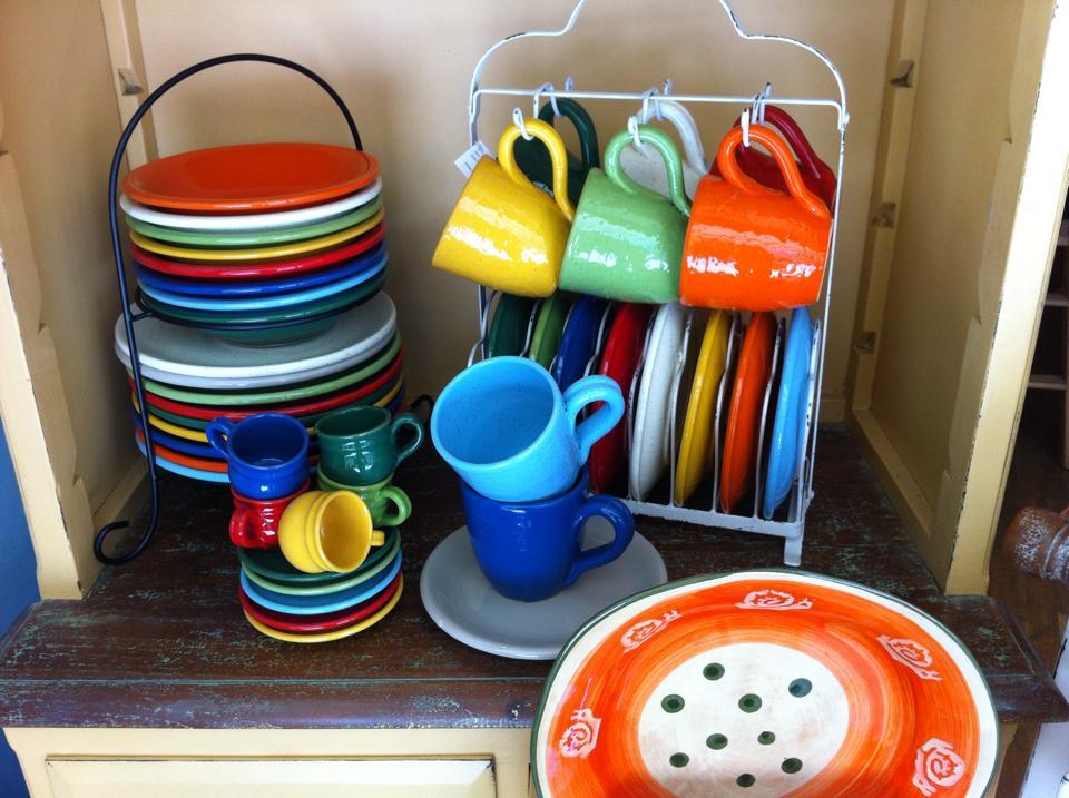 multicolor ceramica pois mug la gabbianella